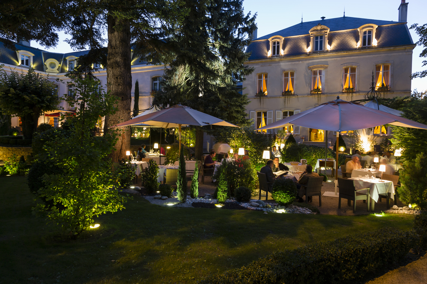luxury hotels burgundy france