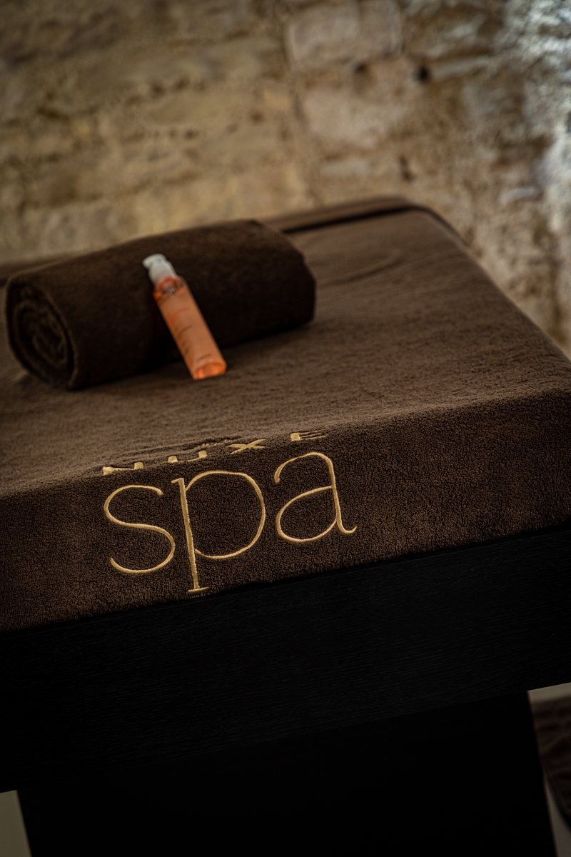 Spa Nuxe Beaune Bourgogne intense relaxation treatment cabin