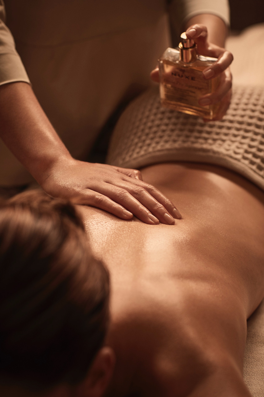 Hostellerie Cèdre Beaune Spa Nuxe Massage Prodigieuse Bourgogne